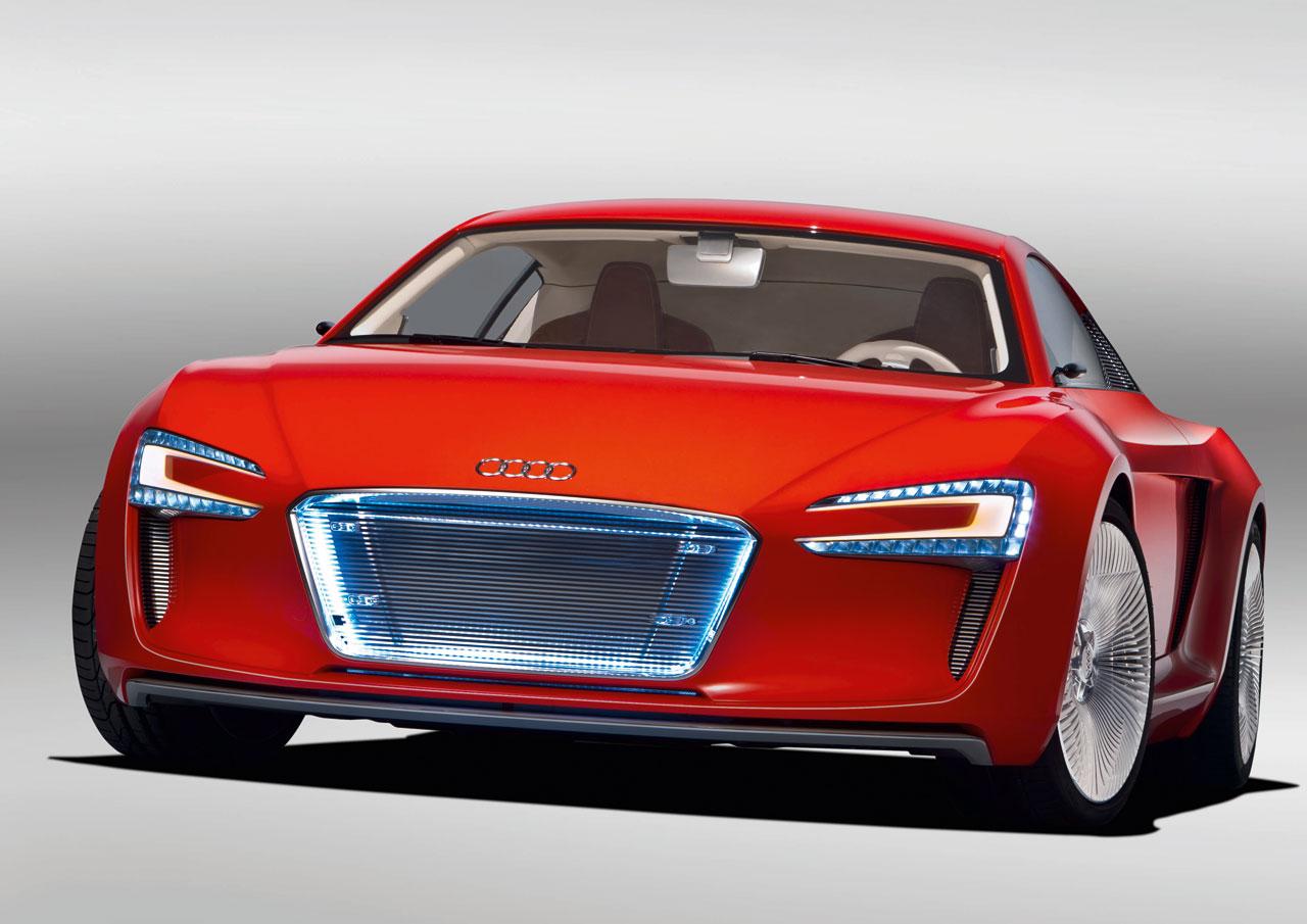 Audi создаст сеть зарядных станций для электромобилей