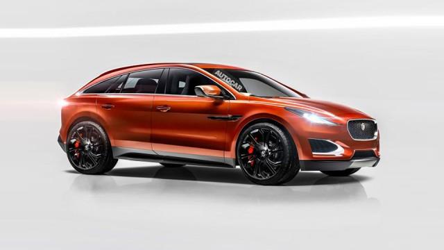 Электрический Jaguar