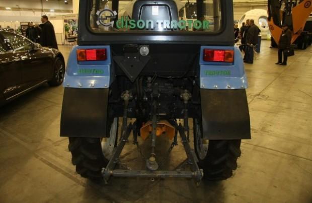 электро-трактор