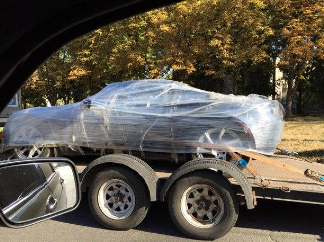 Tesla Roadster опять в Украине