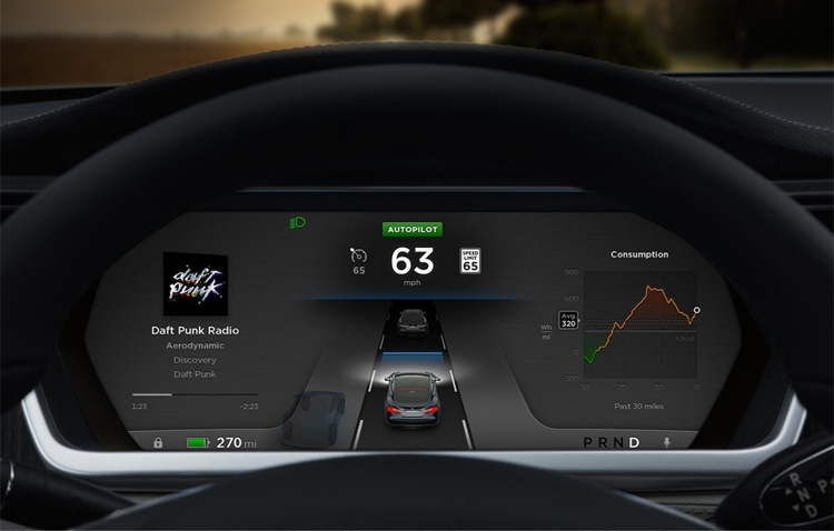 Компания Tesla сделает ограничения по использованию автопилота