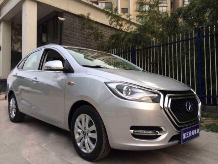 JAC iEV5 — электрокар, доступный для широких масс Китая