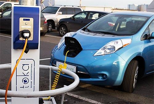 Бум электромобилей идет в Украину