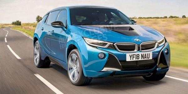 BMW i5 станет электрическим кроссовером