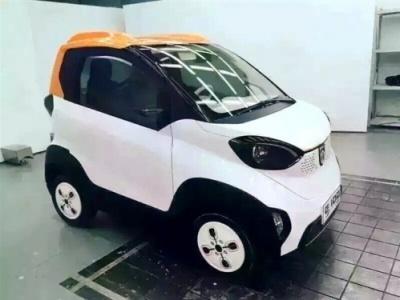 Китайский электромобиль. Шпионское фото
