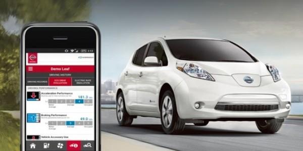 Модель Nissan Leaf взломали через интернет