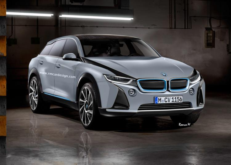 Следующий BMW я автомобиль получает внутреннее имя проекта Ix