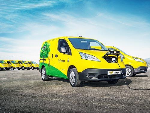 Компания Ниссан будет продавать крупные партии электромобилей в Европу