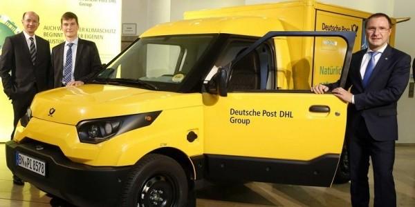В Германии для почты будут создаваться свои электромобили