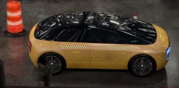 Первые фото электромобиля Apple iCar