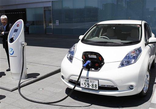 Продажа электричества будет исходить от электромобилей
