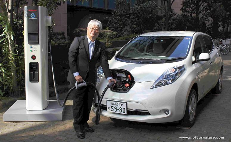Япония первая страна по постройке зарядных станций для электромобилей