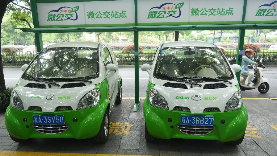 Таксисты Тайюань пересаживаются на электромобили
