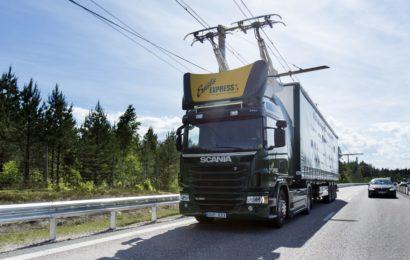 В Швеции открыли первую в мире дорогу для электро грузовиков