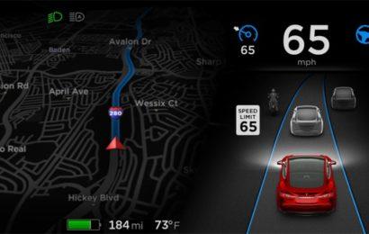 Электромобили Tesla получат автопилот с распознованием дорожных знаков