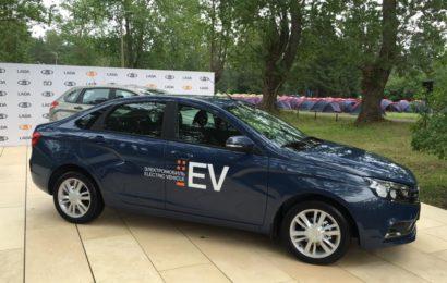 Представляем электромобиль Lada Vesta EV