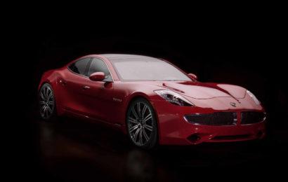 Новая модель электрического седана класса люкс Revero