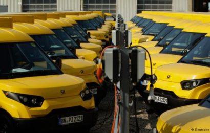 В Германии закупили для почты электромобили