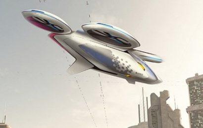 Airbus будет производить летающие такси