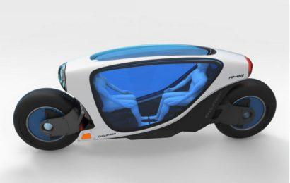 Идея пассажирского электромотоцикла Cyclotron