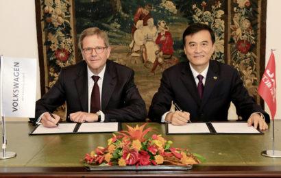 Volkswagen AG и Anhui Jianghuai Automobile (JAC) будут совместно выпускать электромобили
