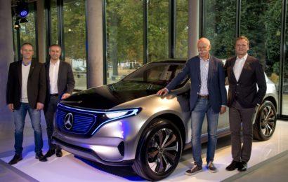 Mercedes знает где будет производить серийные электромобили