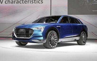 У Audi будет шильдик «е-Tron»