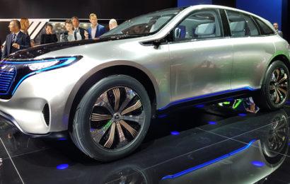 MB выпускает семейство электромобилей