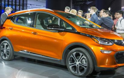 Chevrolet Bolt скоро появится в Украине