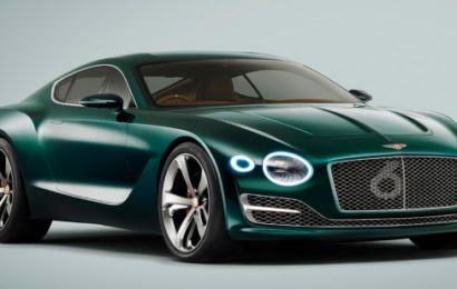 Bentley может выпустить электромобиль