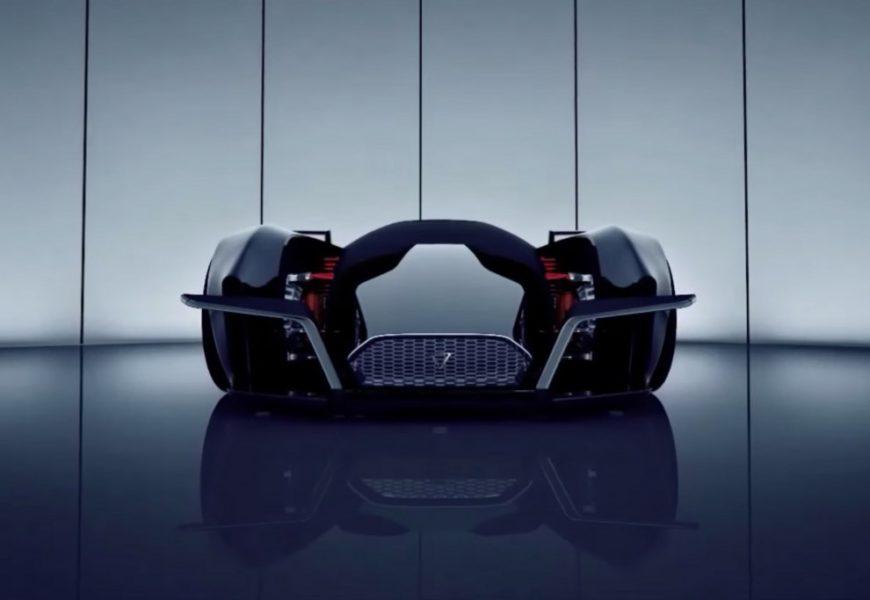 Dendrobium — новый электрический супер кар.