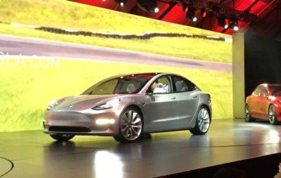 Сколько Model3 выпустит Tesla в 2017 году