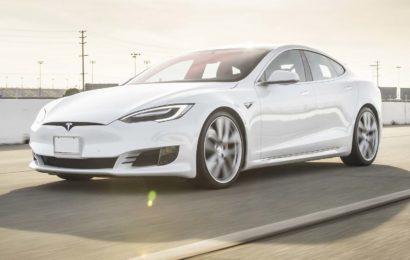 Tesla P100D побила рекорд скорости