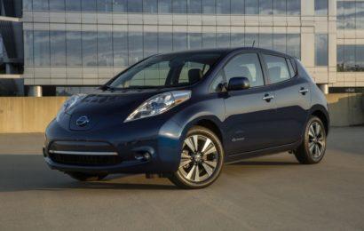 Nissan протестирует беспилотный электромобиль в Лондоне