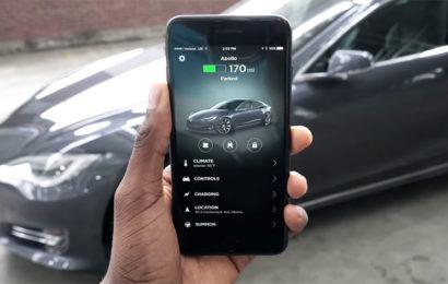 Запустить Tesla с помощью Touch ID