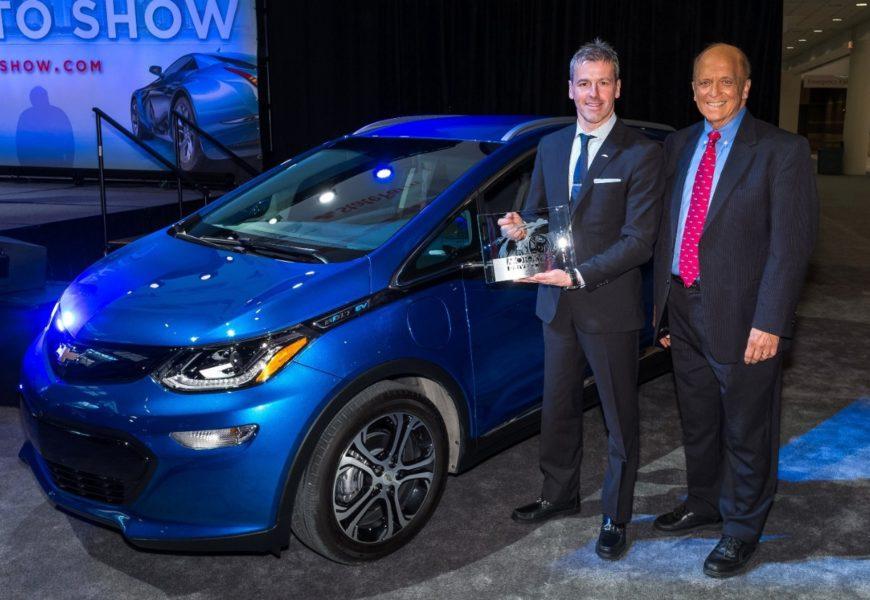 Лучшим авто года стал электромобиль