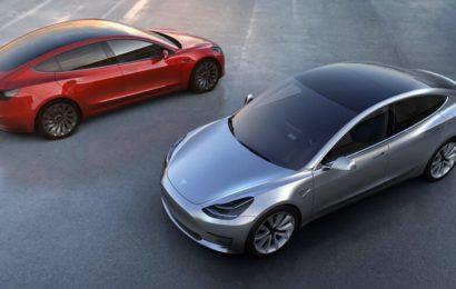 Tesla Model 3 не получит батарею на 100 кВт