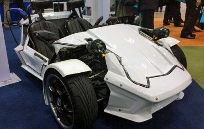 Трехколесный электромобиль от TOYOTA