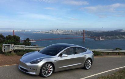 Model 3 запускается в производство