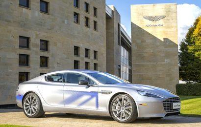 Aston Martin так же выпустит электромобиль