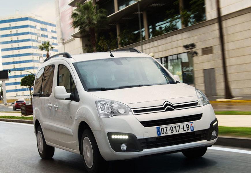 Citroen представил свой грузопассажирский электромобиль