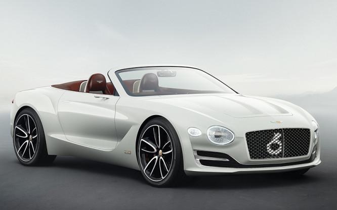 Bentley. Электрический супер родстер.