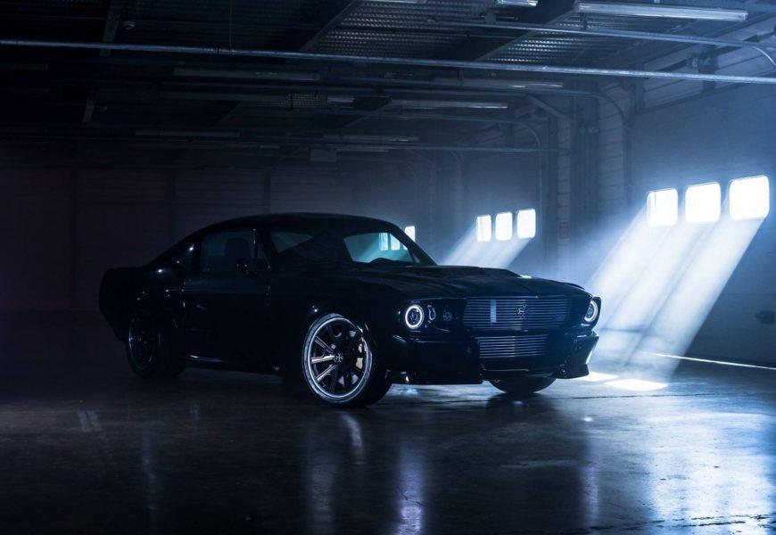 Электрический Ford Mustang