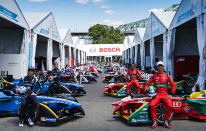 Bosch стала спонсором Formula e пятого сезона 2019 года