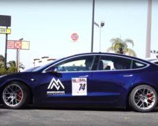 Tesla исключили из соревнований из-за топлива