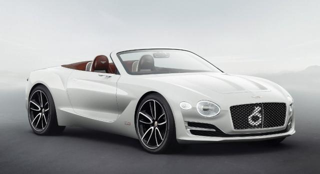Bentley заходит на рынок электромобилей