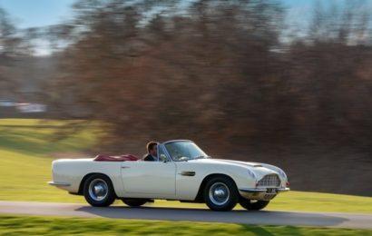 Aston Martin готов переоборудовать ретрокары в електроретрокары