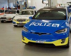 Tesla Polizei