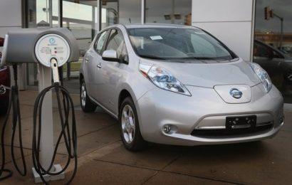 Рост продаж электромобилей в Украине