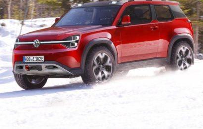 Volkswagen готовит электрический внедорожник